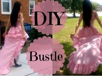 DIY Detachable Ruffle Bustle | Inspired by Anime Ch
