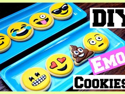 DIY: EMOJI COOKIES!!