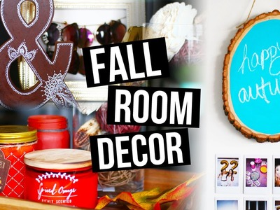 DIY FALL ROOM DECOR TO MAKE YOUR ROOM COZY | LaurDIY