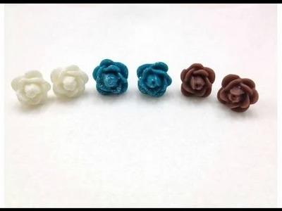 DIY: Flower Earrings