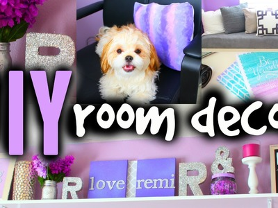 DIY Room Decor! Diy Room Decorating Ideas For Teenagers Small Rooms