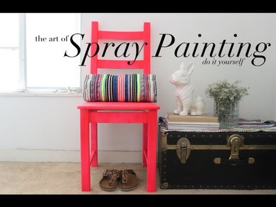 {DIY} Spray Painting: Miss Kris' How To Guide