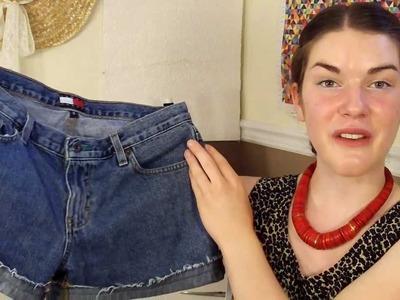 DIY summer 2011 trend *roll up shorts* Sofia Boudreau
