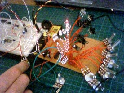 DIY Synth:004 - 8 step sequencer - VCO - LFO