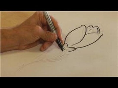 Drawing & Illustration Tips : How to Draw a Tulip