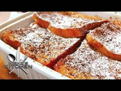 French Toast Bake - Video Recipe