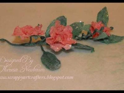 Handmade Tea Rose Flowers