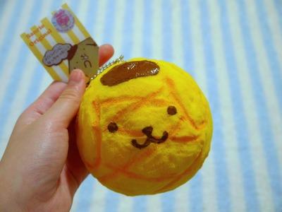 Homemade Squishy Tutorial - Pom Pom Purin Melon Bun