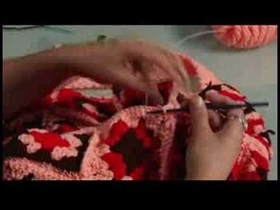 How to Crochet a Bag : Crochet: Corner of Pocket
