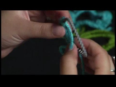 How to Crochet a Scrunchie : Crocheting over a Hair Band: Hair Scrunchie Pattern