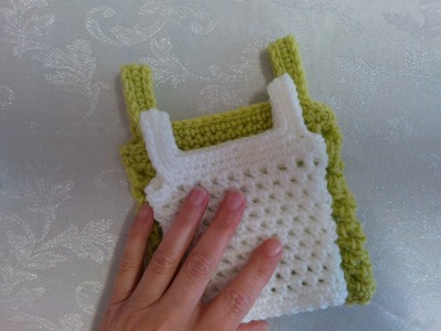 How to crochet my petite baby string vest tutorial part 2 easy magical pattern adults sizes included