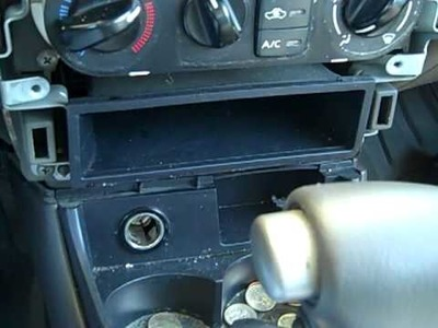 HOW TO INSTALL A CD PLAYER IN A 2000-2005 NISSAN SENTRA
