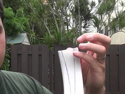 How to Make A Centershot Snakey Recurve Bow Part 1