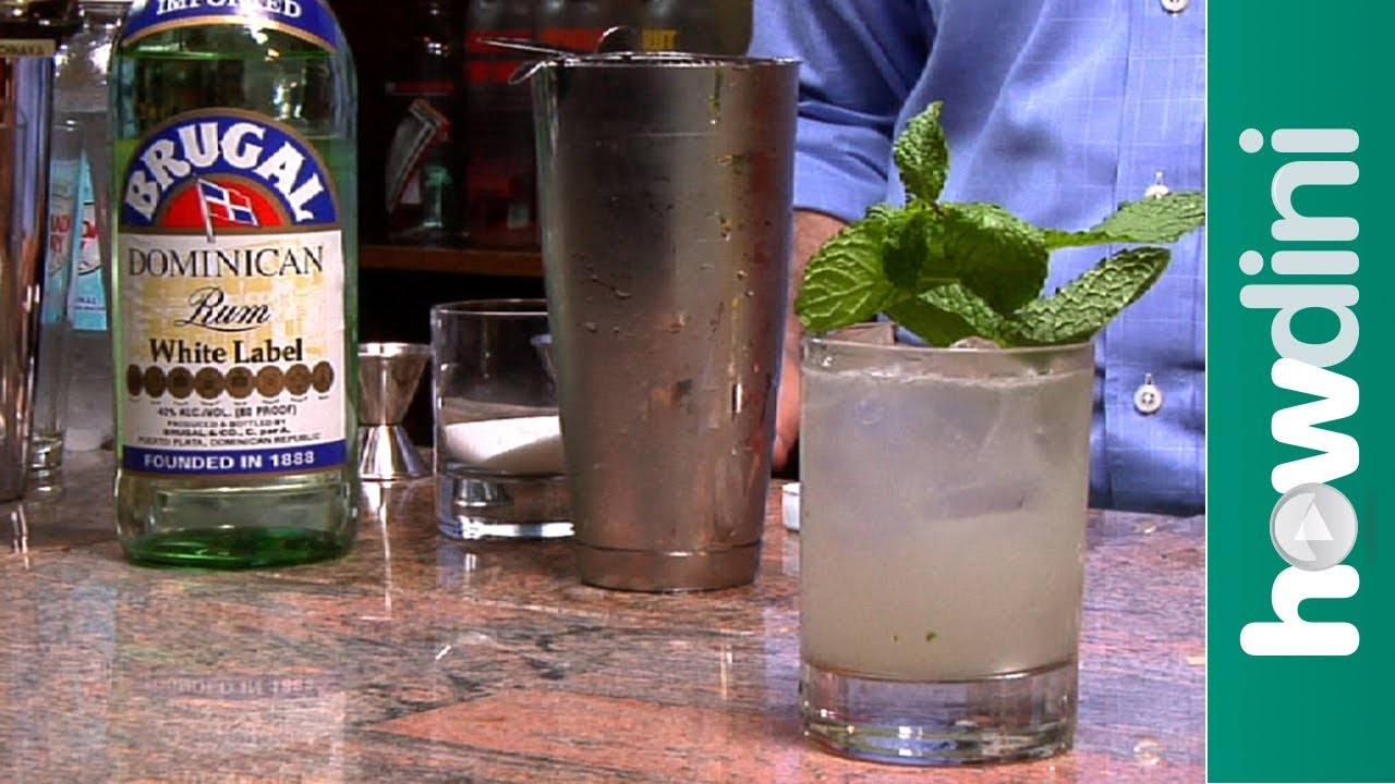 How to make a mojito cocktail - Mojito recipe