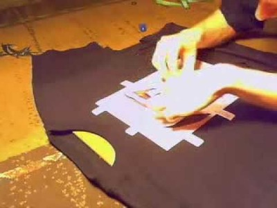 How to make a t-shirt #2