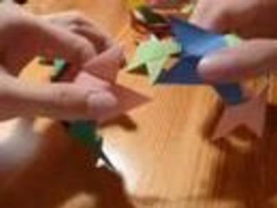 How to make an origami box skeleton (modular)