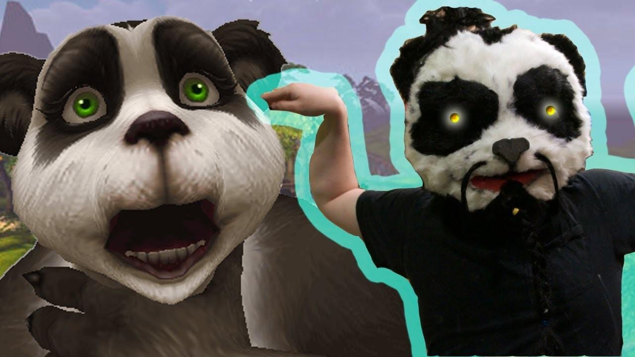 How to make PANDA MONK MASK