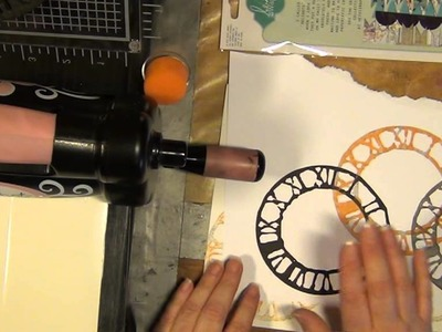 HOW TO MAKE STAMPS OUT OF THICK FUNKY FOAM WITH SIZZIX.TIM HOLTZ DIES