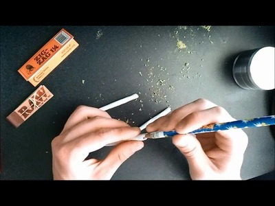 How to roll a braided joint