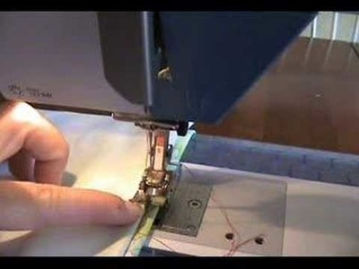 How To Sew A Blind Hem Stitch