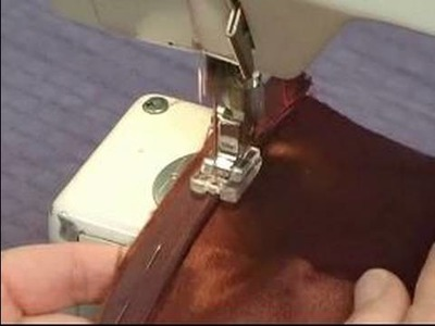 How to Sew Zippers : Sewing Right Side for Invisible Zipper