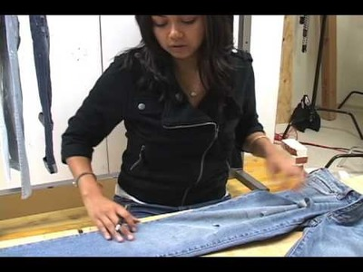 How To: Shred Your Jeans