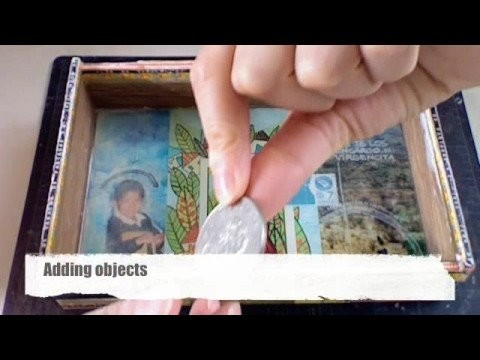 How to use Epoxy Resin on a collage