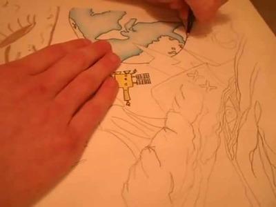 How to with  Pitt Artist Pen (Un Edited)