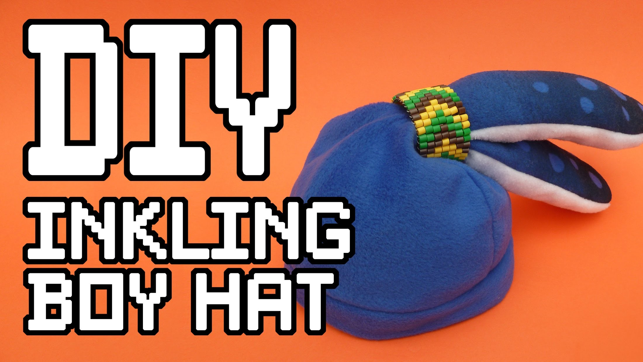Inkling Boy Hat DIY Tutorial