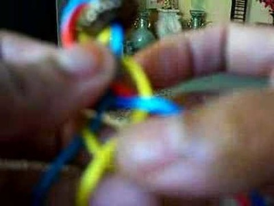 Knot : 6 strand diamond braid knot