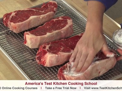 Learn To Cook: The Secret to Perfectly Seared Steak