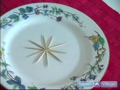 Magic Tricks for the Dinner Table : The Toothpick Star Dinner Table Magic Trick
