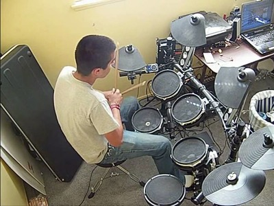Making of and Testing Alesis mesh head mod