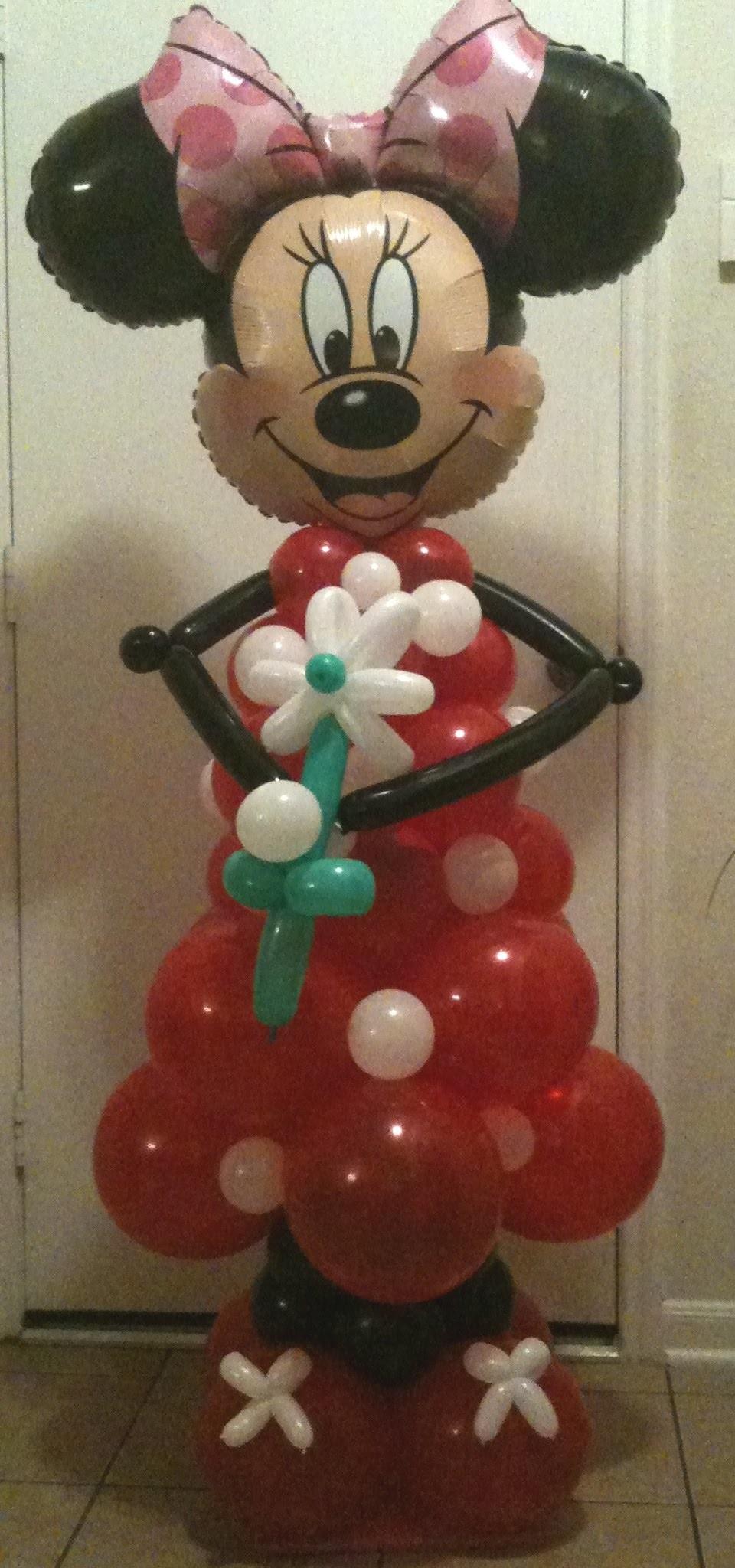 Mickey & Minnie Balloon Creations