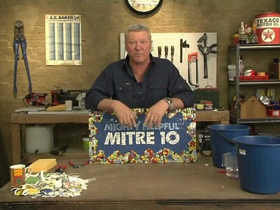 Mitre 10: How to create a great mosaic piece presented by Scott Cam