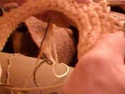 No Hole Wrapping for Knitting