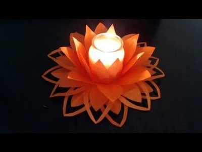 Part II - How to make paper flower decoration (updated)