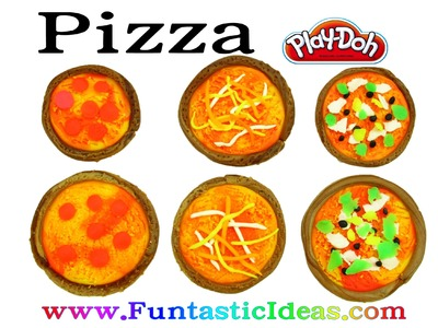 Play Doh Pizza Fast Food - How to by Funtastic Ideas