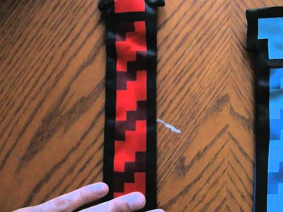 Quick Overview: Thinkgeek 8-bit Ties (Power Red and Classic Blue)