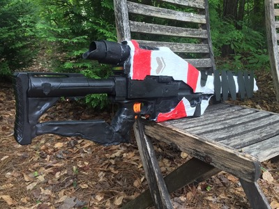 "Real Life ""Ice Breaker"" from Destiny (Functional Nerf Gun Replica)"