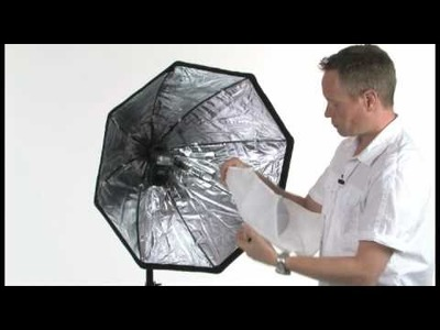 Strobist Accessory quick & easy assemble softbox for speedlite