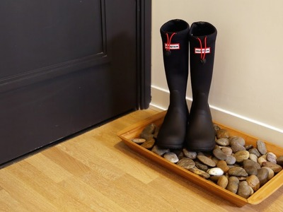 Suite Living   DIY Winter Boot Tray