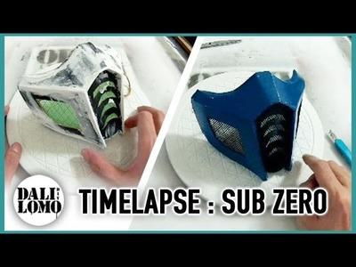 Timelapse - Making MK Sub Zero Costume Mask