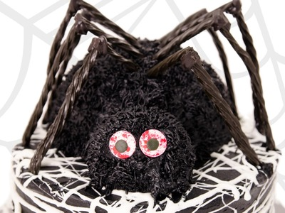 3D Spider Cake. Halloween Cake from Cookies Cupcakes and Cardio