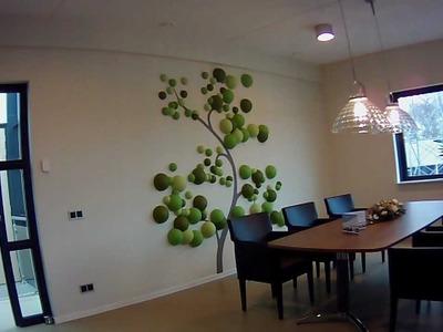 3d Tree wall decoration