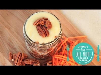 4-Minute Carrot Cake in A Jar Recipe