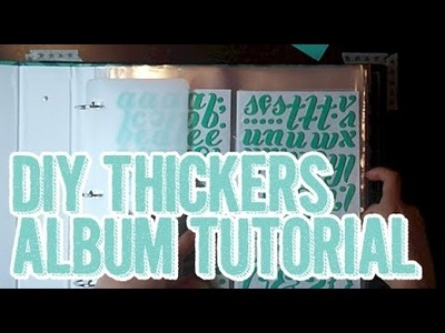 404: How to Make a Thickers Album, Thickers Organization - Organized Me Friday