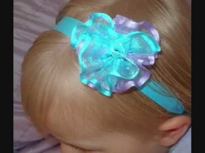 Baby Headbands and Hairbows for Spring