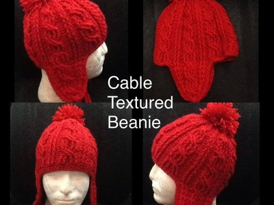 Cable Texture Beanie Part 2