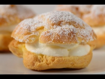 Cream Puffs Recipe Demonstration - Joyofbaking.com